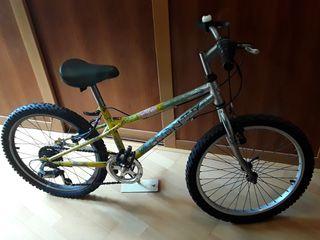 Bicicleta infantil Monty con cambios