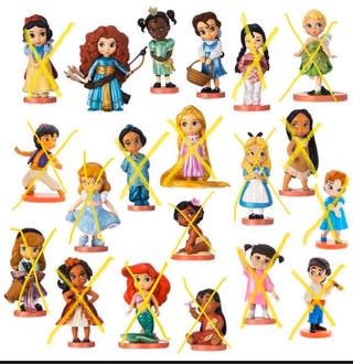 Figuritas mini animators disney