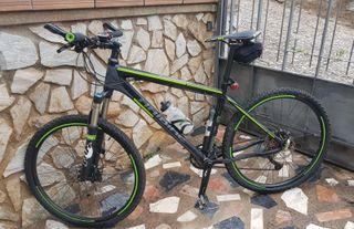 "Bicicleta 26"" Haibike FOX SHIMANO xt + extras"