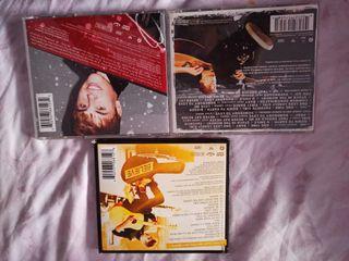 Pack de discos de Justin Bieber.
