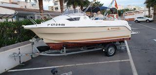 Barco Quicksilver cruiser 470