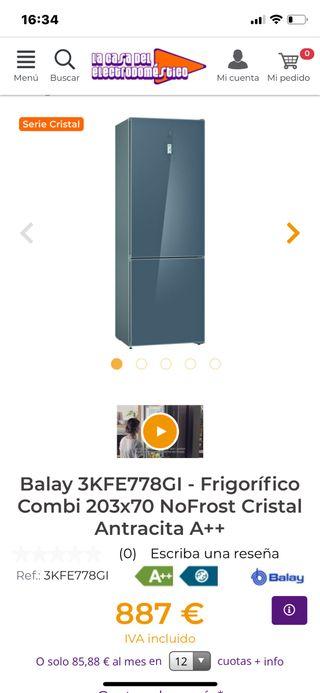 Frigorifico Combi 70 cm ancho
