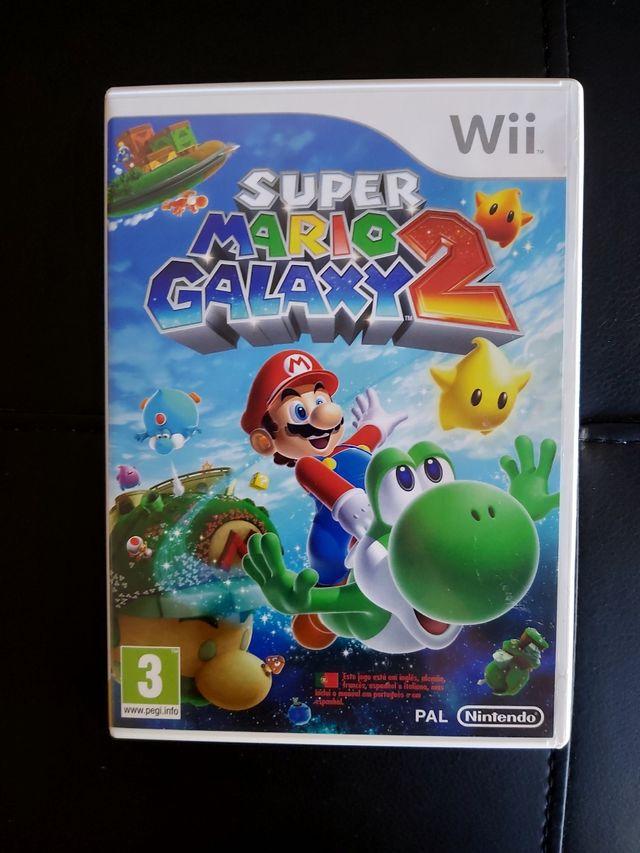 SUPER MARIO GALAXY 2 + DVD GALAXY Para Wii