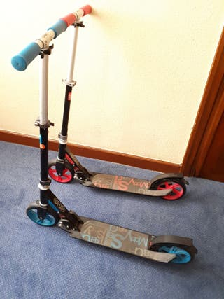 2 PATINETES SCOOTER OXELO MID NIÑOS 7
