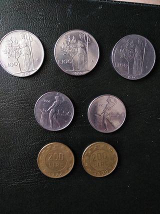 Monedas Italianas