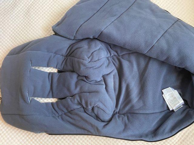 Saco bugaboo polar azul melagne. IMPECABLE