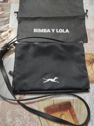 bolso bandolera negro Bimba y Lola