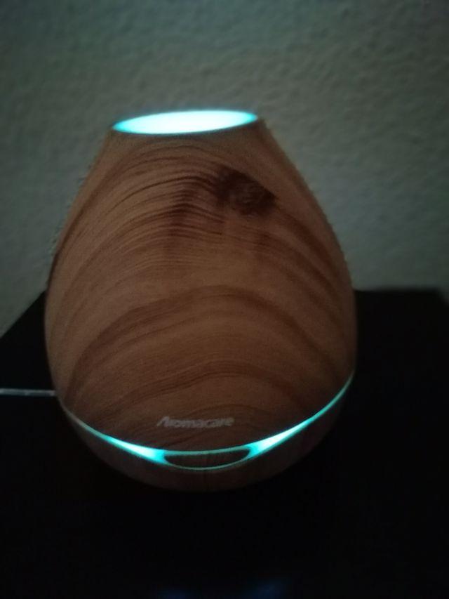 Humificador de aire eléctrico con luz