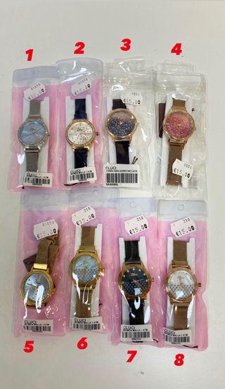Relojes de mujer acero inoxidable