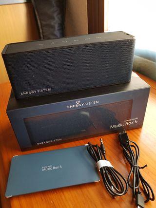 Altavoz Bluetooht Energy sistem Music Box 5