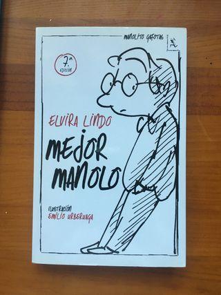 libro: MEJOR MANOLO. Elvira Lindo