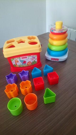 Lote juegos educativos bebé Fisher Price