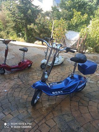 3 Scooter eléctricos