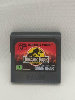 juego jurassic park de consola sega Game gear