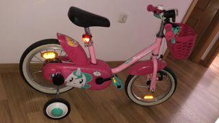 Bicicleta niña decatlhon