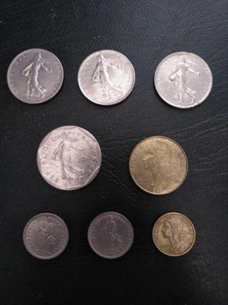 Monedas francesas