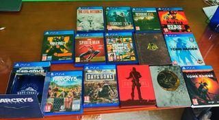 Juegos Playstation 4 // Hago envio
