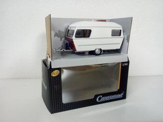 Caravana Roulotte Polar 1:43 Cararama