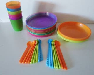 37 piezas plastico
