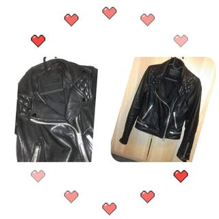 All Saints leather jacket Size 6/8