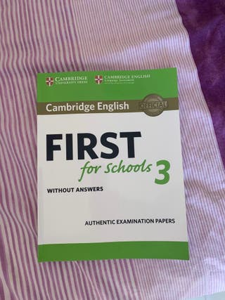 Libro first Cambridge