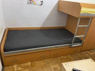 Litera cama doble juvenil
