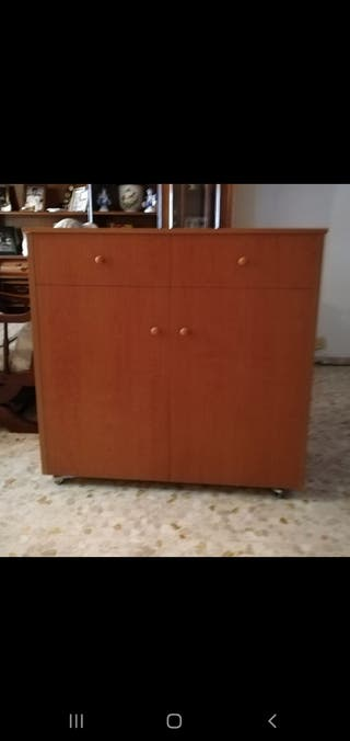 Cama mueble con colchón incluido