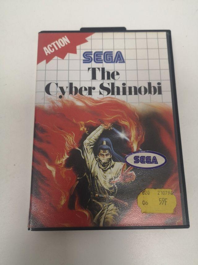 The Cyber Shinobi para Sega Master System