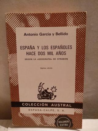 España y los españoles hace 2000 años.