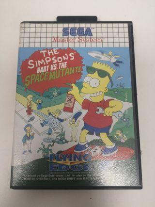 The Simpsons para Sega Master System