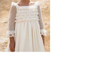 Un vestido de Primera Comunión para niña