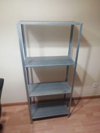 Estanteria metalica HYLLIS de IKEA