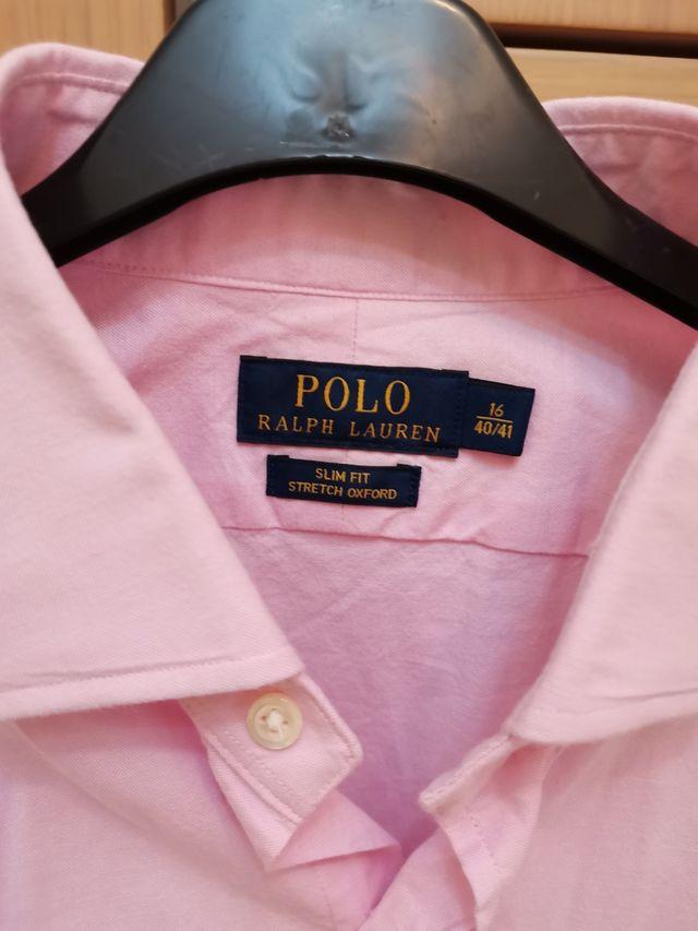 Camisa Ralph Lauren talla L rosa