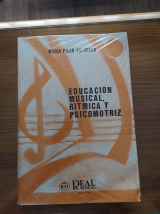 Educación musical, rítmica y psicomotriz