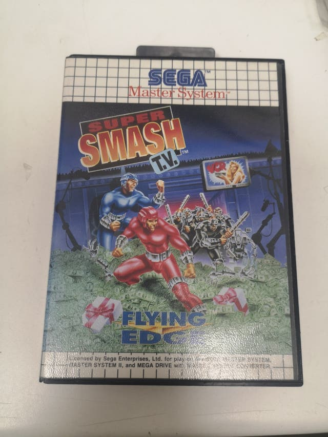 Super Smash TV para Sega Master System