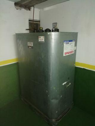 Deposito caldera diesel