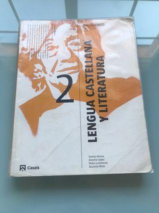 Libro Lengua y Literatura Segundo Bachillerato