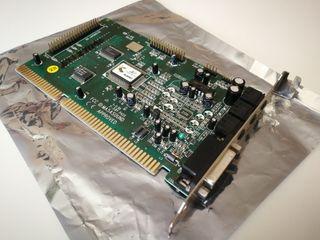 Tarjeta de sonido Avance Logic 16 Bits ISA Retro