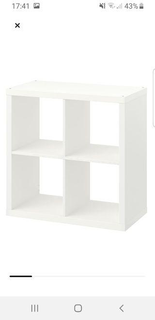 Estantería blanco Ikea