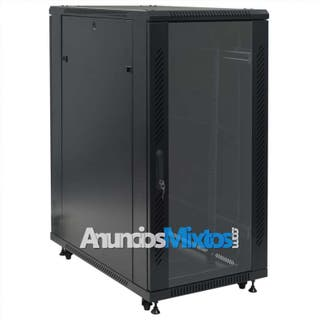 """Armario de red de pared 24U 19"""" IP20 600x1000x1230"""