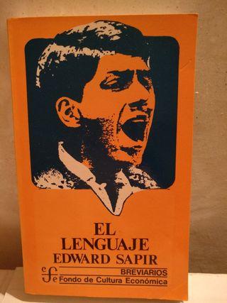 El lenguaje. Eduard Sapir