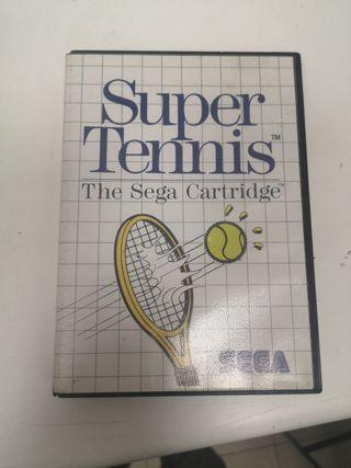 Super Tennis para Sega Master System