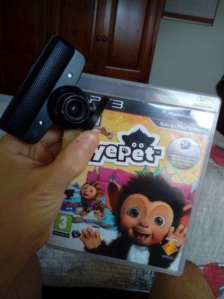 Eyepet + cámara para la PS3