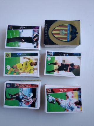 532 cromos de Las Fichas de la Liga 2003