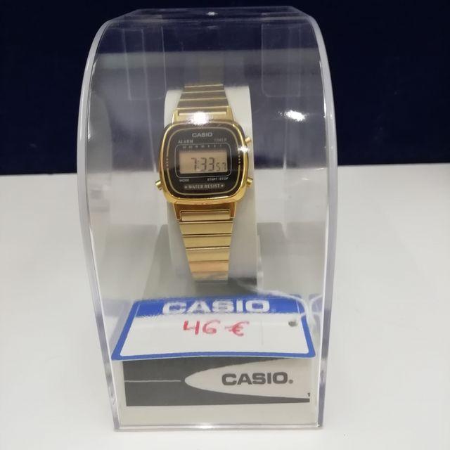 Reloj Casio Mujer Modelo LA670WGA-1DF
