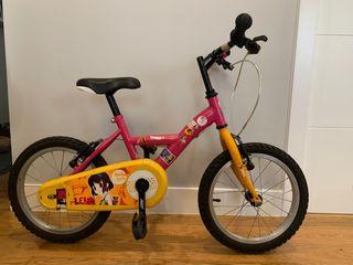 Bicicleta infantil Teens 16 para niño o niña