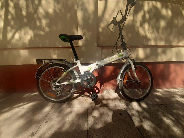 bicicleta marca FOLDING 20