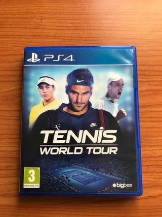 Play station 4 Tennis Wold Tour
