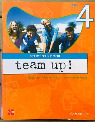 Libro Team up 4 eso SM