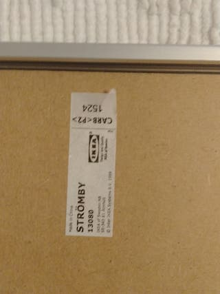 Marco Stromby Ikea 40x50